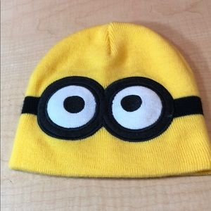 Despicable Me Minion embroidered stretch hat